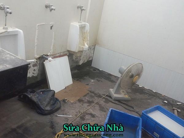 Chống thấm nhà vệ sinh tại quận thủ đức